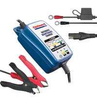 Cargador inteligente - Recuperador - Mantenedor Baterías 12V Coche Moto Barco Auto (Optimate 1 Duo) STD GEL AGM Litio (LiFePO4)