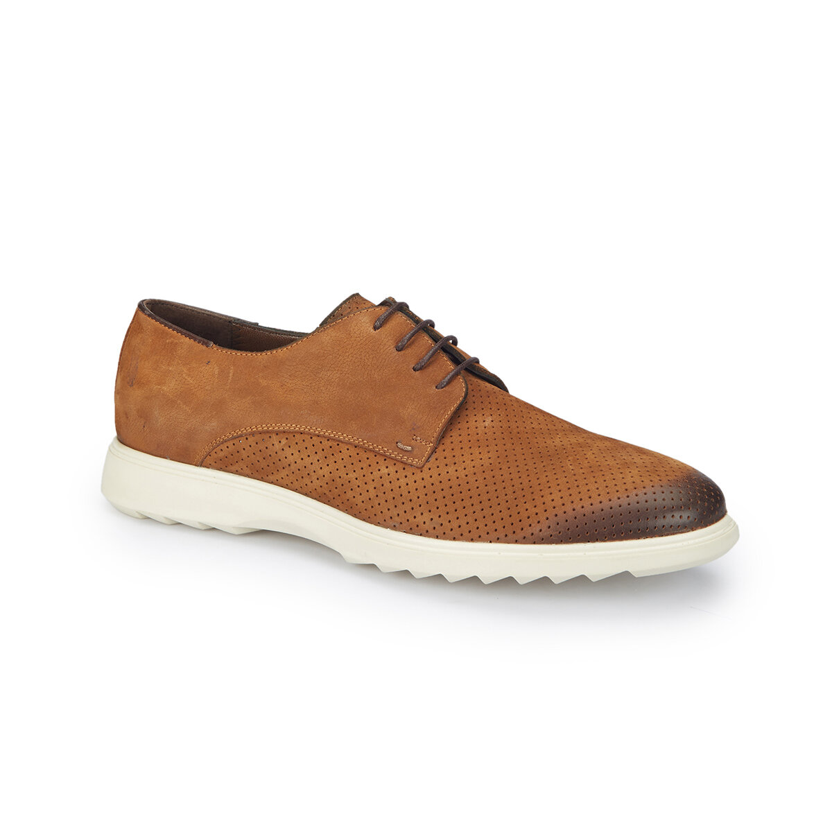 FLO RONAN Tan Men 'S Classic Shoes MERCEDES