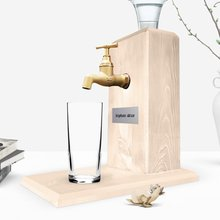 Personalized Tap Natural Wood Rack Stand-Wood