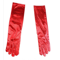 Перчатки женские длинные тонкие для торжеств 1