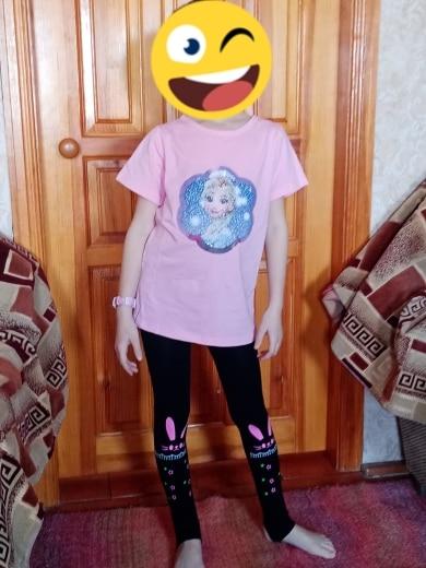 girls leggings spring dancing foot pants Elastic force legging for girls clothes cartoon cat photo review