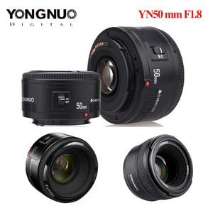 Image 2 - Objectif YONGNUO dorigine YN50 mm YN50mm F1.8 YN535mm F2.0 objectif de caméra pour Canon Canon EF