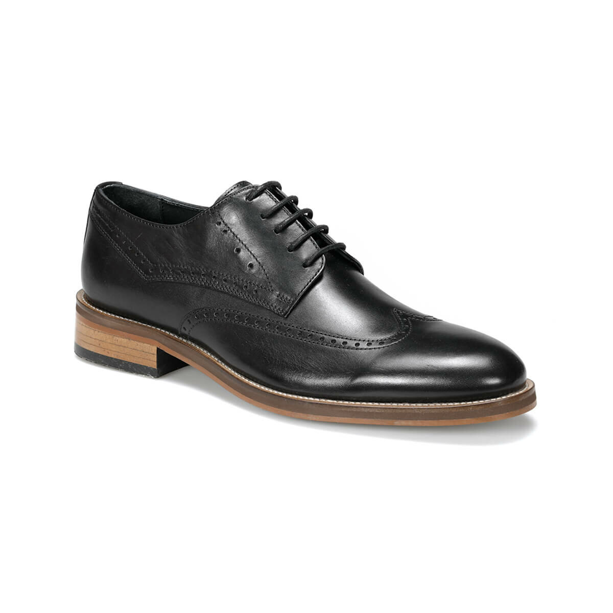 FLO IRON 9PR Black Men 'S Classic Shoes MERCEDES
