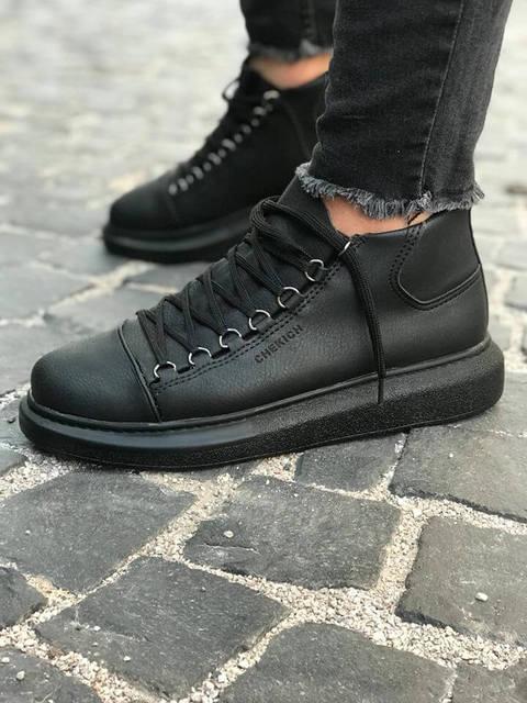 Chekich CH258 Black S.T Male Sneakers