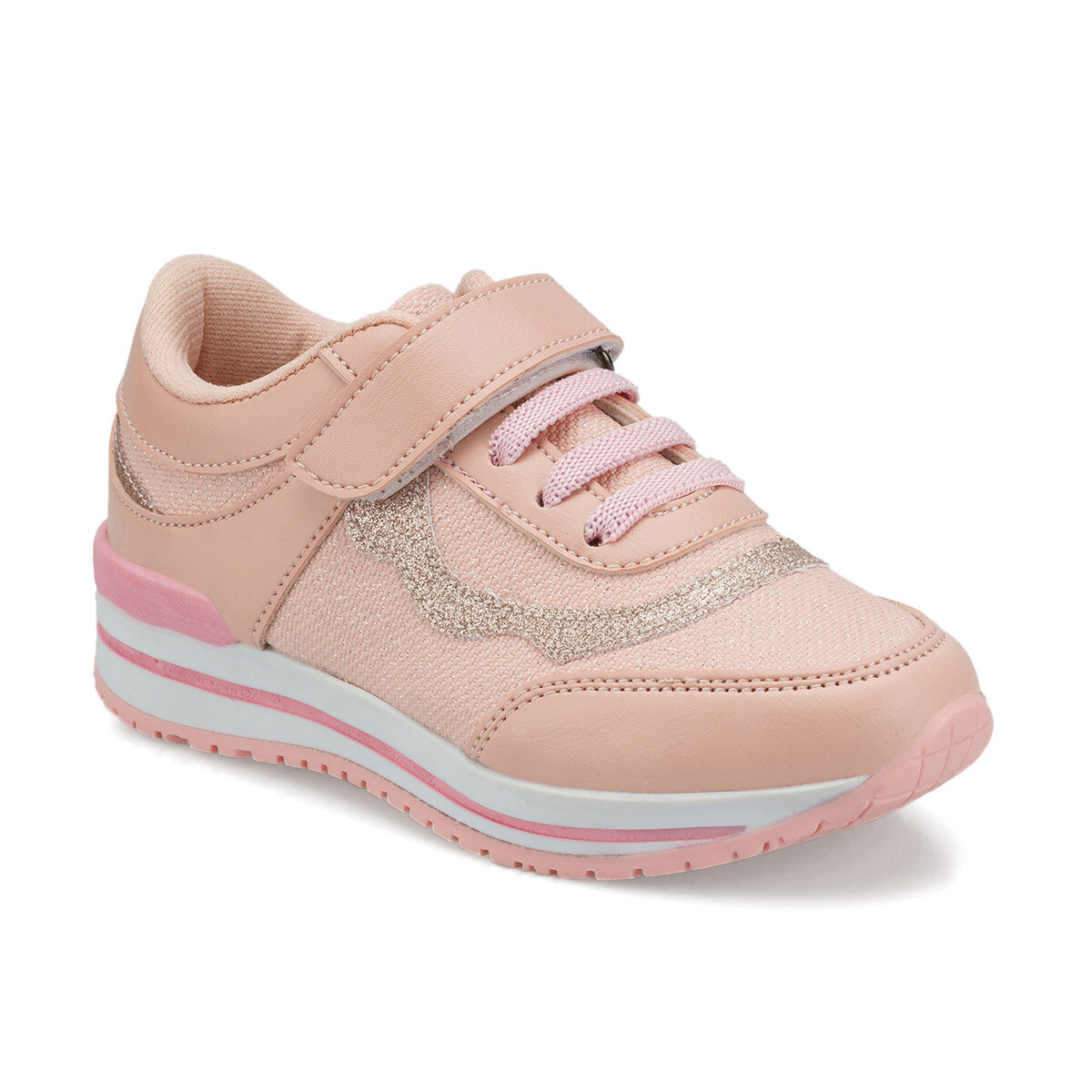 FLO 512297.P Pink Female Child Sports Shoes Polaris