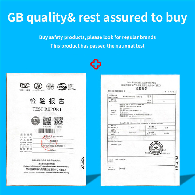 PPE Suit Coverall Hazmat Suit Disposable Anti-Virus Isolation Clothing Factory Hospital Protective Safety Clothing CE 1