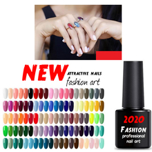 Free Shipping UV LED Gel Varnish Soak Off Nail Gel