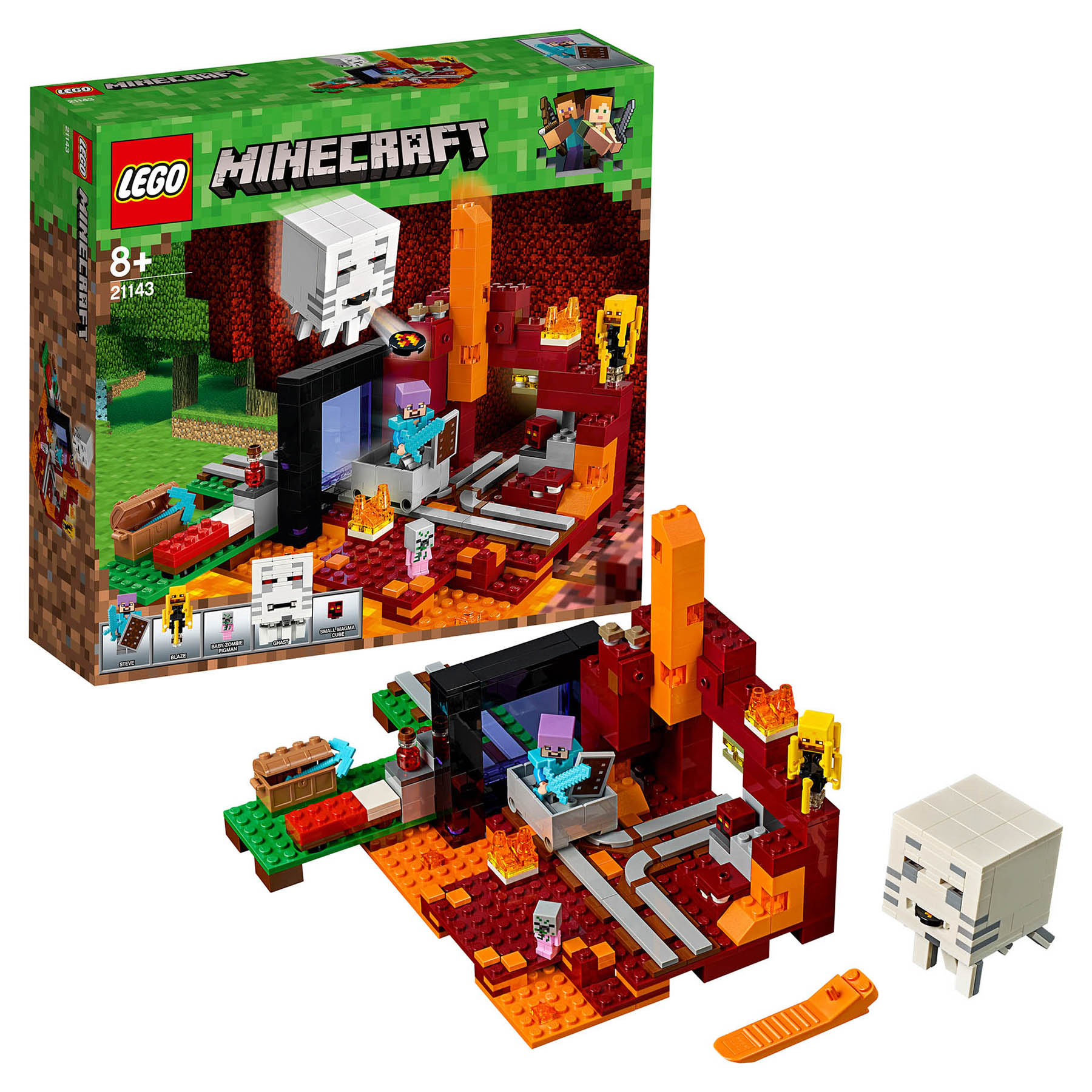 Designer Lego <font><b>Minecraft</b></font> <font><b>21143</b></font> portal in the dungeon image