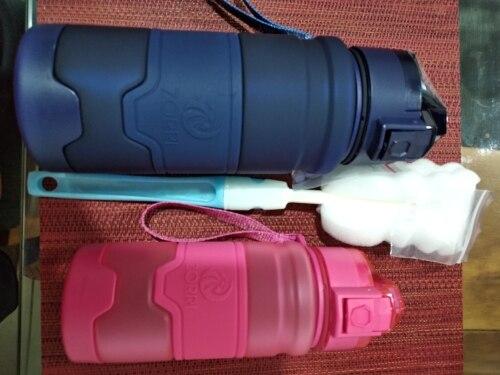 ZORRI Drak Blue Sports Water Bottle Best Reusable Protein Shaker Bpa Free Water Bottle Hiking Cycling Gym Bottle botella de agua-in Water Bottles from Home & Garden on AliExpress
