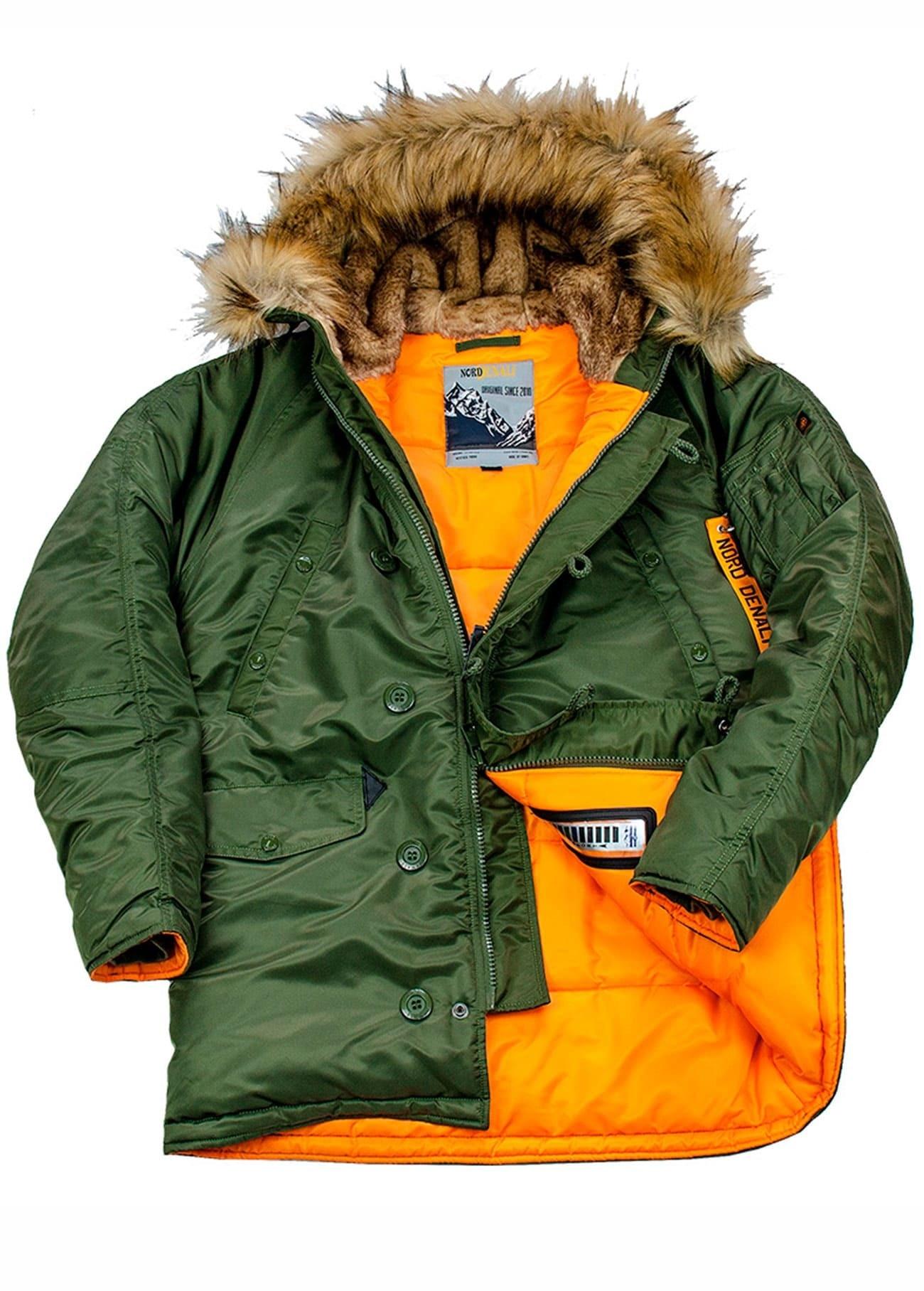 куртка аляска парка мужская Nordenali Husky N-3B