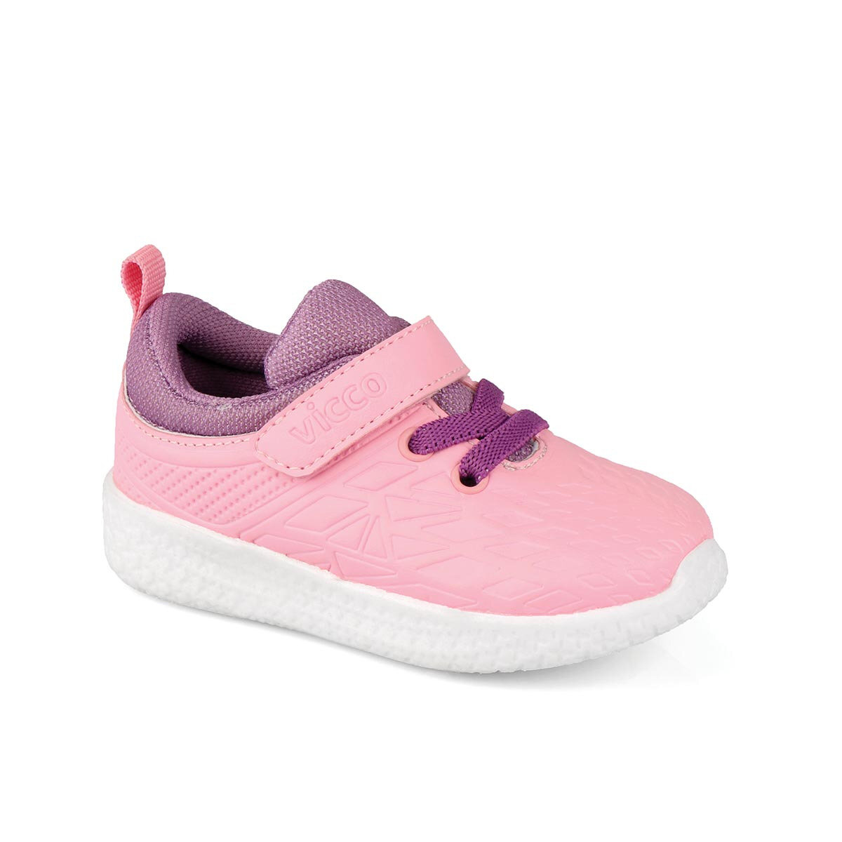 FLO 346.19Y.220 BEBE WORK LIGHT Pink Female Child Sneaker Shoes VICCO