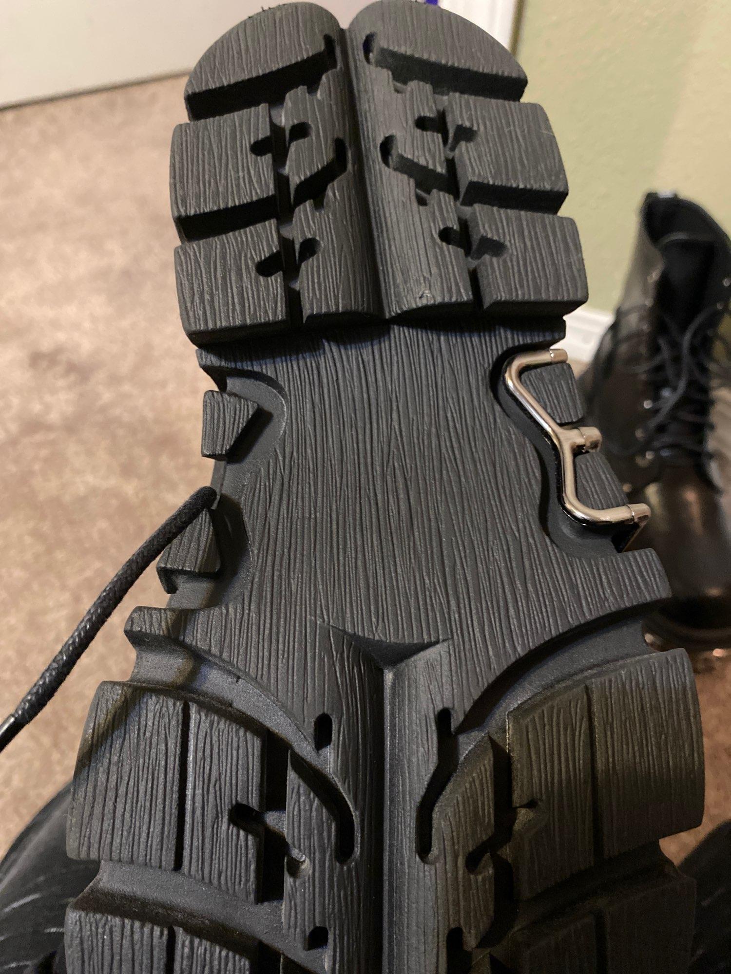 Egirl Punk Style Platform Chunky Shoes with Metal Decor photo review
