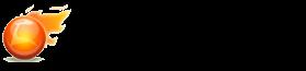 橙色火焰和地球世界杯信息网logo在线制作