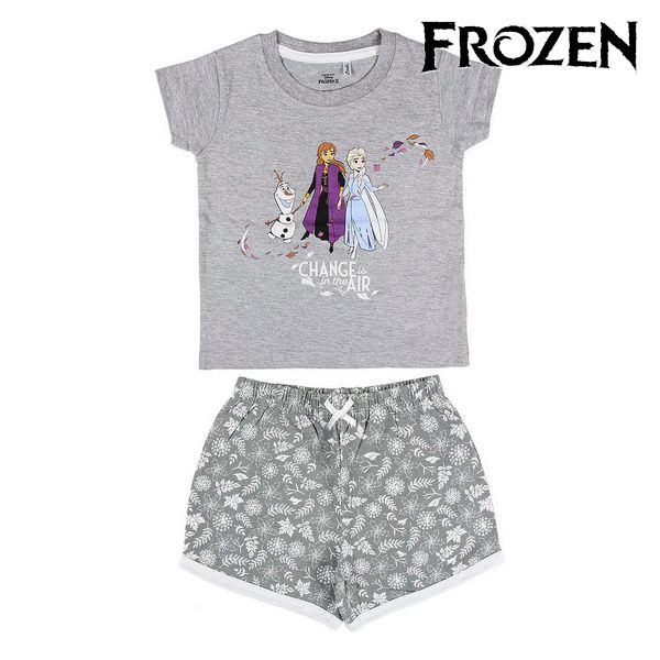 Summer Pyjama Frozen Grey