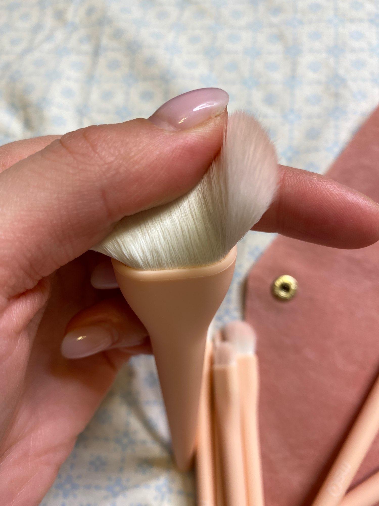 8PCS Makeup Brushes Sets Powder Foundation Blusher Eyeshadow Brush Candy Cosmetic Colorful Make Up NO MSQ LOGO With Bag reviews №4 223980