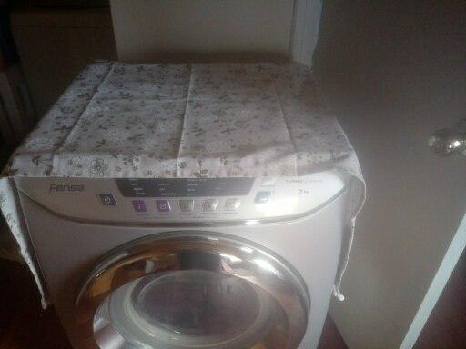 Capa p/ máquina de lavar roupa Lavagem Tambor Animados