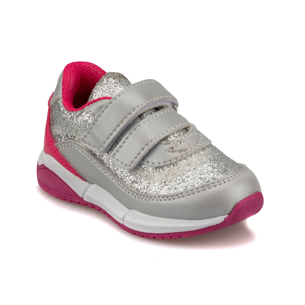 FLO 92.511754.B Silver Female Child Sneaker Shoes Polaris
