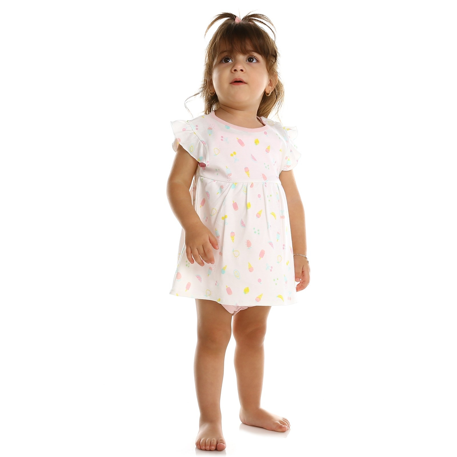 Ebebek HelloBaby Summer Baby Sweet Fruits Dress Bodysuit
