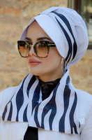 White black zebra