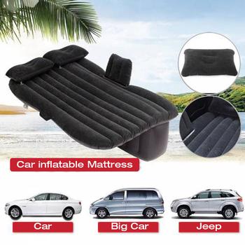 Samochód nadmuchiwany materac wakacje camping travel nadmuchiwany materac poduszka akcesoria samochodowe łóżko w kształcie samochodu tanie i dobre opinie TR (pochodzenie)