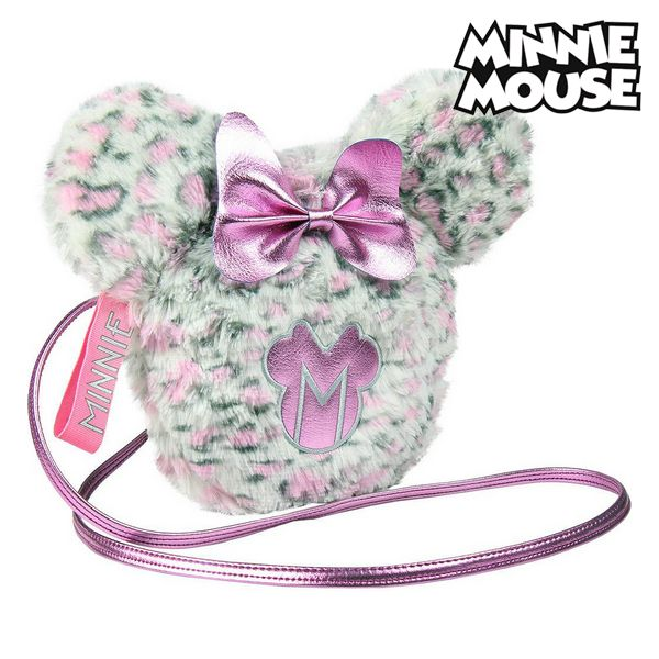 Shoulder Bag Minnie Mouse Pink White