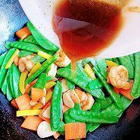 荷兰豆炒虾仁 #福气年夜菜#的做法图解14
