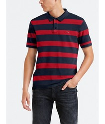 Polo Levis®Boink Stripe poloshirts fashion short sleeve with stamping STRIPEDs menswear brand