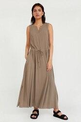 Finn Flare утонченное платье без рукавов свободного фасона с кулисой по линии талии, коллекция лето-2020