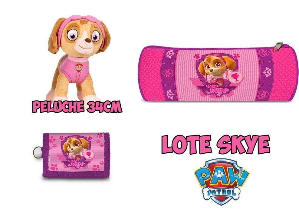 Lot Skye Patrol Dog Billfold, Stuffed & Pouch