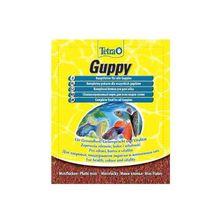 Корм для рыб TETRA Guppy для гуппи,пецилий,меченосцев и живород.пицилиевых,в хлоп. 12г(пакетик
