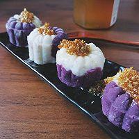 零失败❗️山药紫薯糕的做法图解11