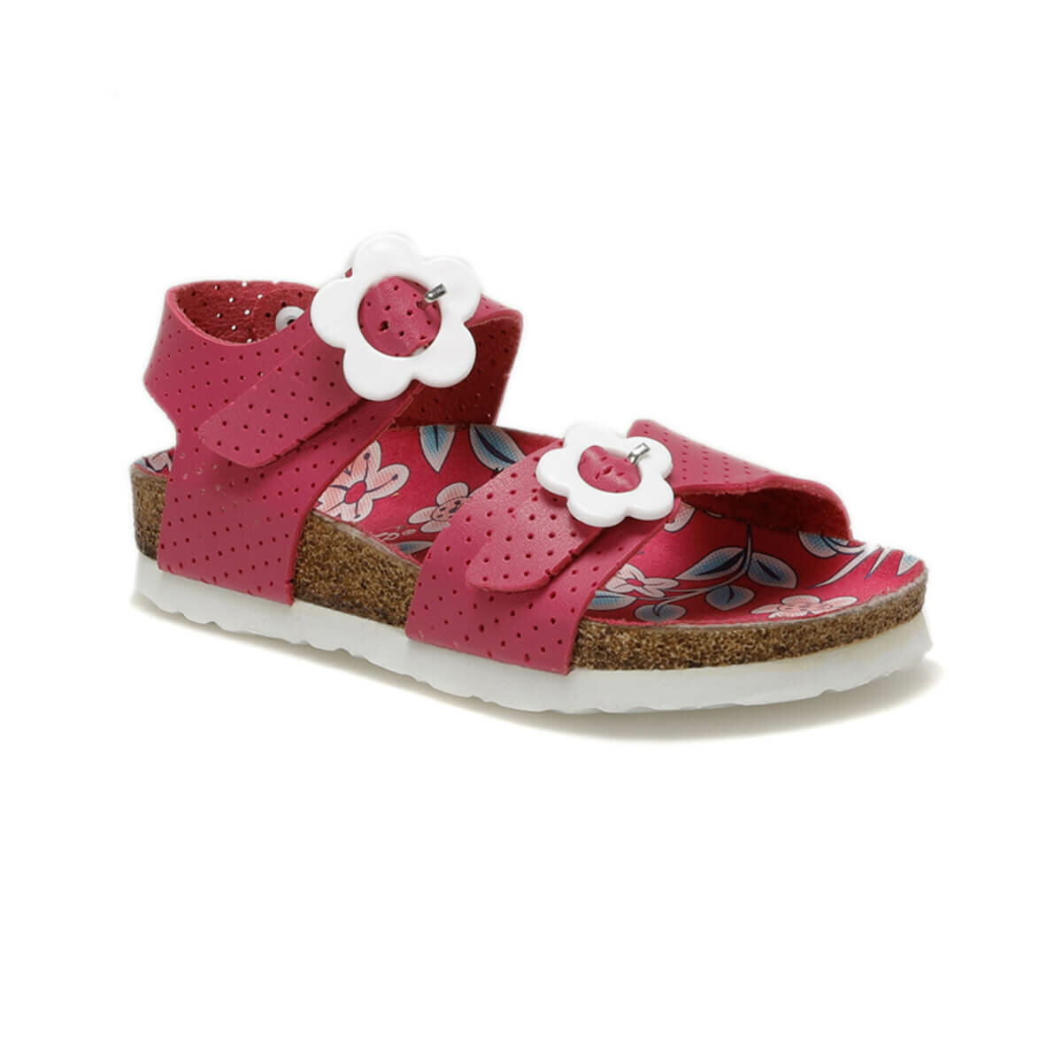 FLO 91.YUND Y.P Fuchsia Girls Child Sandals PINKSTEP