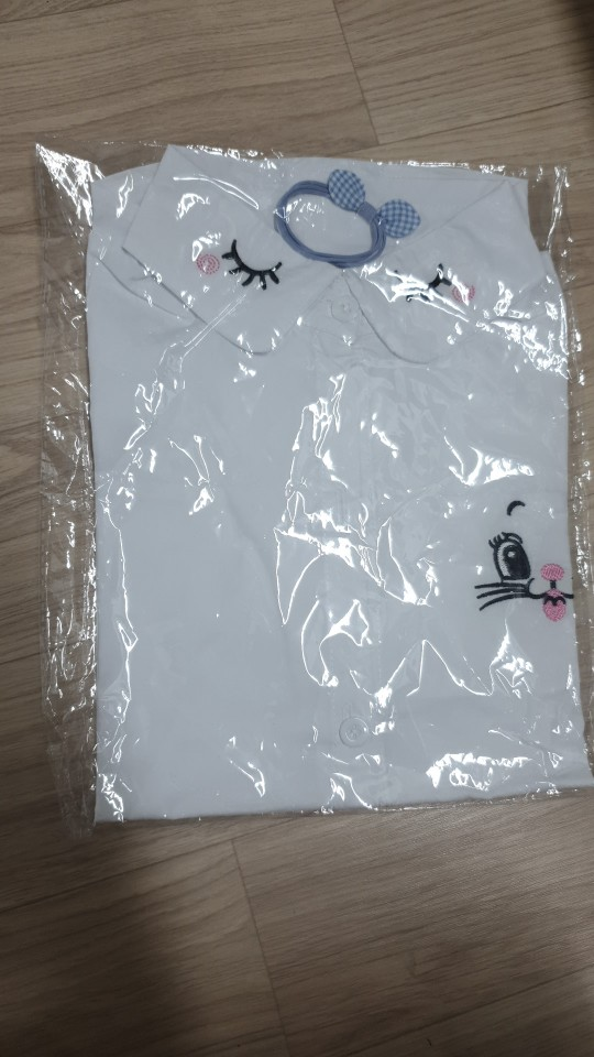 New Arrival Girls White Blouse Fall Cute Long Sleeves Children Cartoon Shirts Girl Blouses Cat Teenager School Clothes Kids Tops photo review