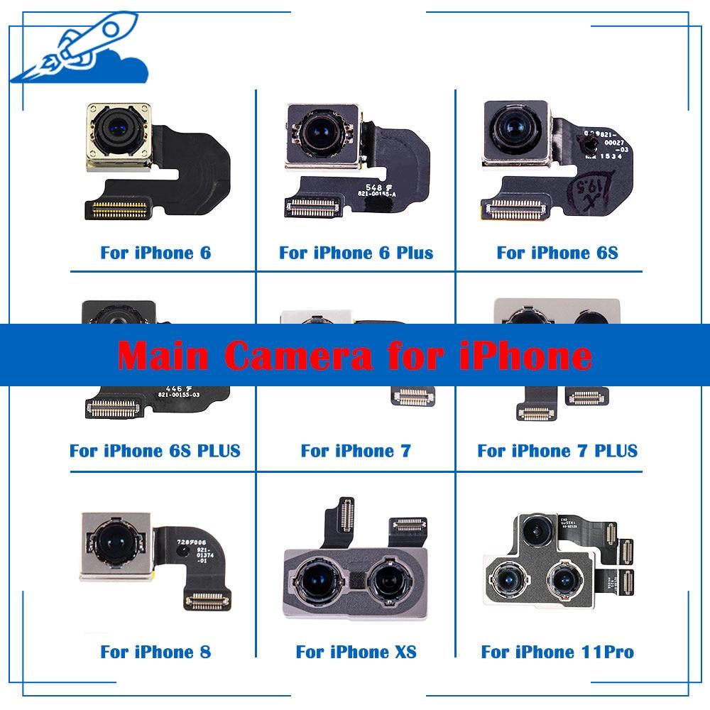 ELEKworld OEM Back Rear Camera With Flash Module Sensor Flex Cable For IPhone X XR XS 6 6S 7 8 Plus XS MAX 11 11Pro Test Well