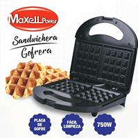 Gofre ra sanduíche elétrico para gofre s com placa gofre 750 w waranty MP SWG1|Máquina de Waffle|   -