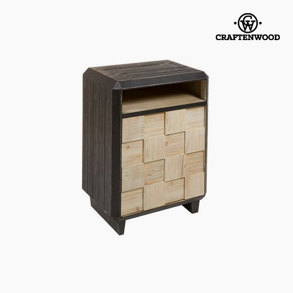 Nightstand Fir Mdf (69 X 50 X 38 Cm) By Craftenwood