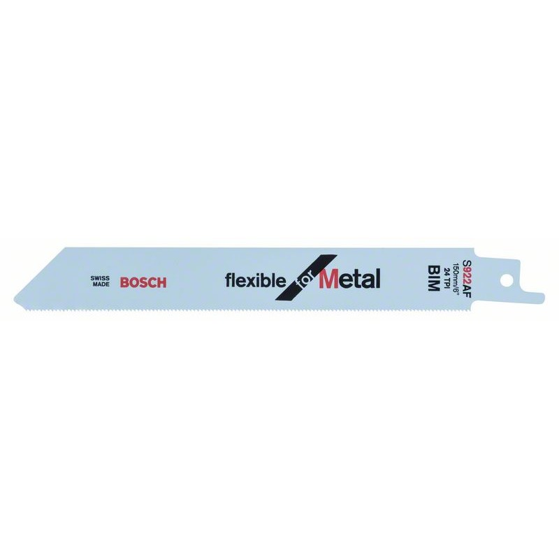 BOSCH-saw Blade Sable S 922 AF Bendable For Metal