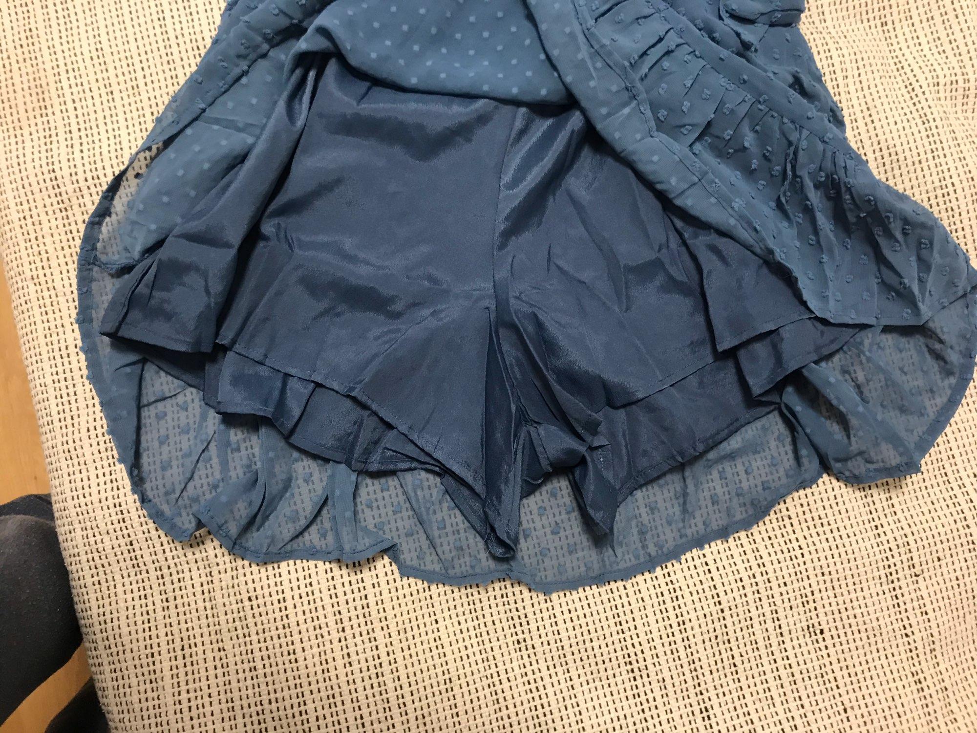 Aachoae 2021 Summer Women Ruffles Lace Chiffon Dress Boho Mini Beach Dress Three Quarter Sleeve Ladies Party Dresses Vestido|Dresses|   - AliExpress
