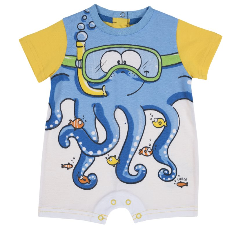 Sandpiper Chicco, size 074, color octopus (yellow)