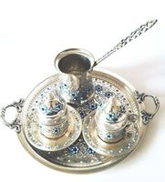 Turkish Coffee Serving Set Coffee Porcelain Cup&Saucer,Coffee Maker Pot