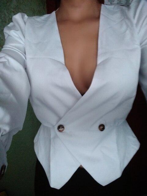 High Fashion Peplum Blouses Women V Neck Autumn Sexy Blouse Shirts Ladies Office High Waist Blusa Female Vintage photo review