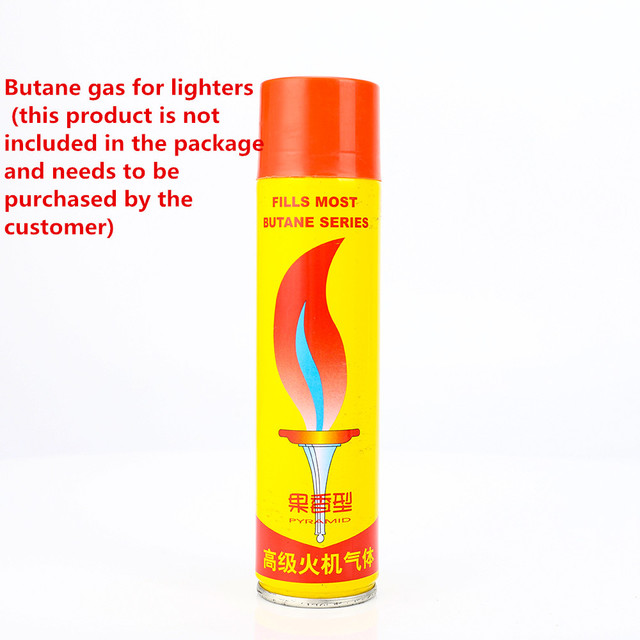 Butane Gas Jet Lighter High Capacity Torch Turbine Spray Gun Blue Flame Lighter Cigar Wild Kitchen Smoking Cigarette Accessories 6
