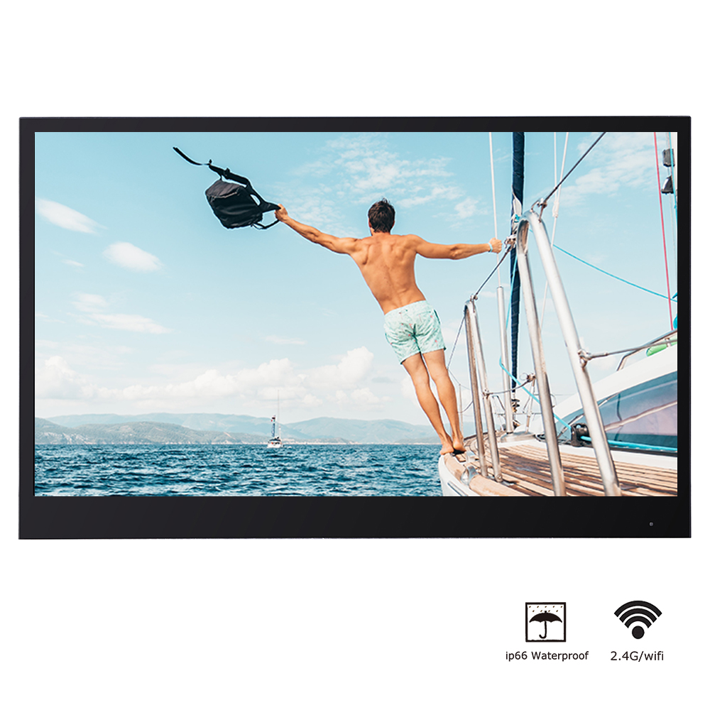 Uf5bfea9ae9a64e11a6f6ec87408975ce4 Souria 22 inches White Finish Bathroom Luxury Smart LED TV Interior Water Proof Television Kitchen Appliance YouTube Available