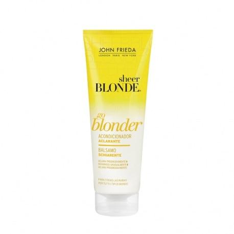 SHEER BLONDE CONDITIONER 250ML LIGHTENING BLONDE HAIR