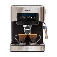 Máquina de café manual expresso ufesa ce7255 1 6 l 850 w aço inoxidável|Cafeteira| |  -