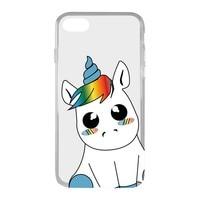 Mobile cover Iphone 7/8 KSIX Flex TPU Unicorn   -