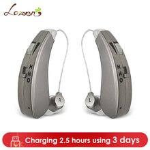 Перезаряжаемые мини слуховые аппараты аудиофоны Усилители звука