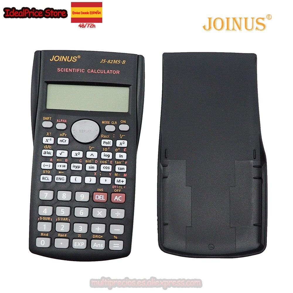 JOINUS®Calculatrice scientifique 2 lignes d'ingénierie adaptées écoles et entreprises compatibles