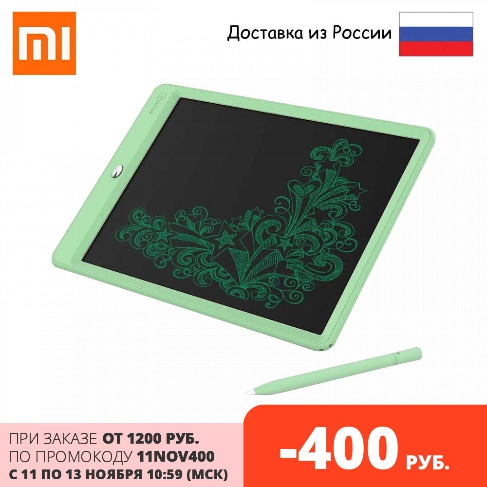 Детский планшет для рисования Xiaomi Mijia Wicue 10 inch (зеленый/green), Размер экрана 154 х 212 мм, Вес (g) 190 Юный художник    АлиЭкспресс
