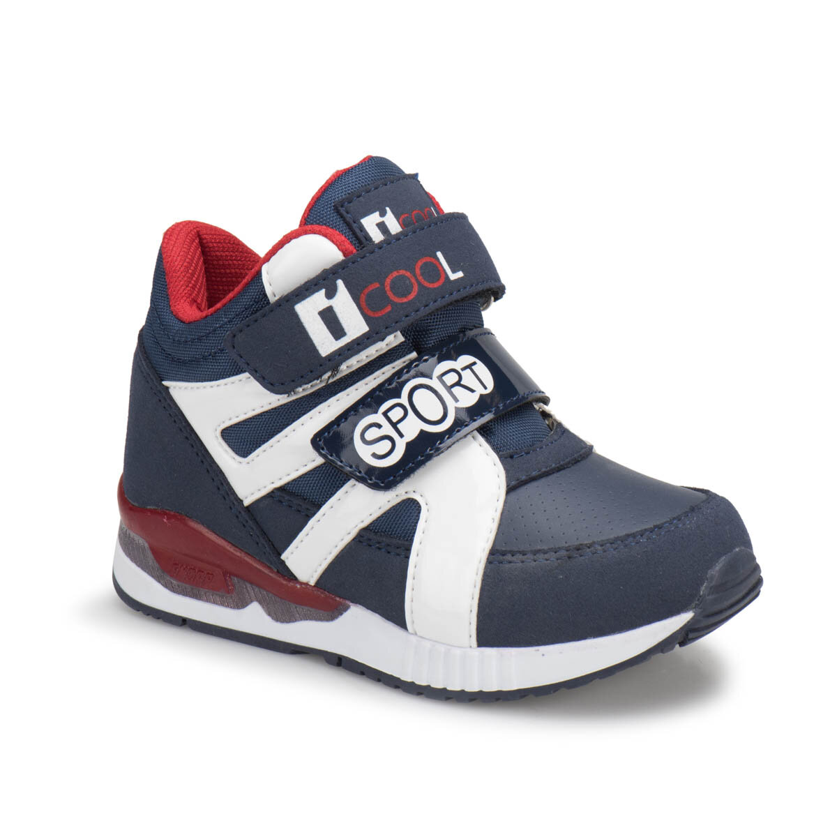 FLO TOD Navy Blue Male Child Sneaker Shoes I-Cool